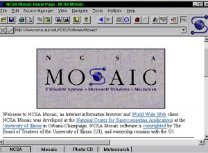 Mosaic Web Browser