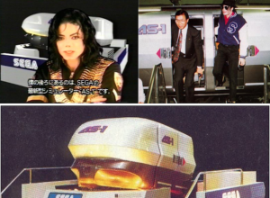 "Sega's ""Michael Jackson in Scramble Training"""