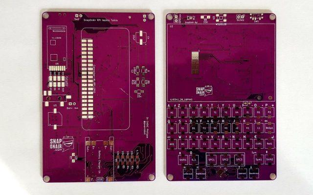 SnapOnAir Raspberry Pi Zero PCB