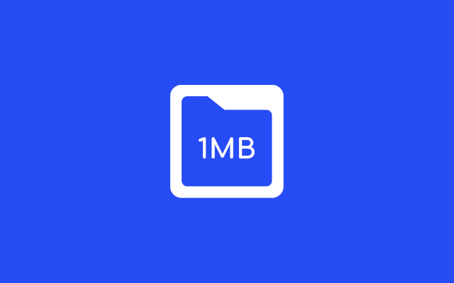 1MB – the service offering affordable web hosting