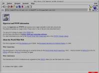 A webpage about hypertext