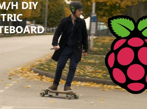 This Raspberry Pi Electric Skateboard Is So Cool