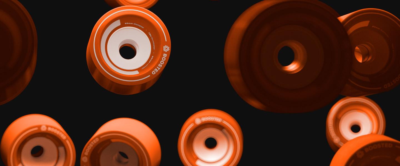 boosted skateboard wheels