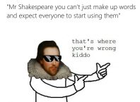 Shakespeare meme