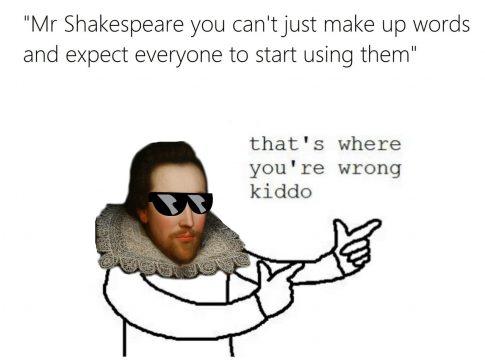 Shakespeare meme