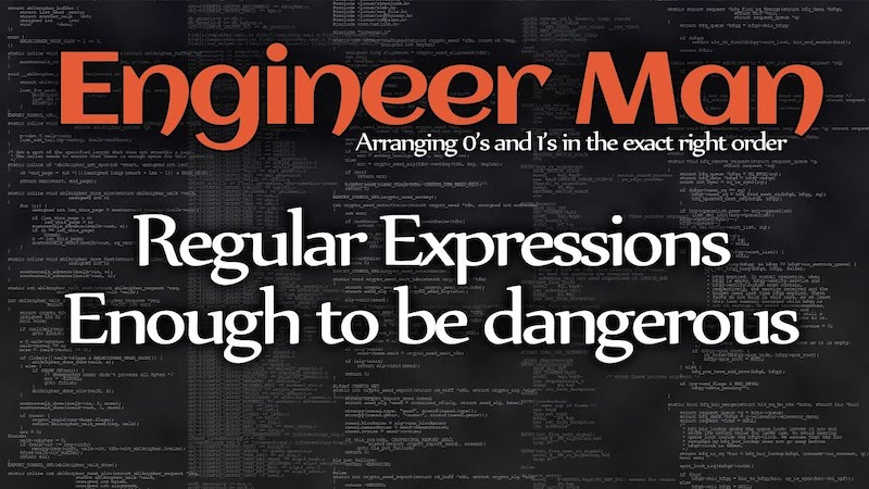 Regular Expressions - Enough to be Dangerous