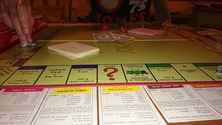 How many payments does it take to break even in Monopoly?