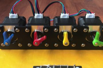4 stepper motors
