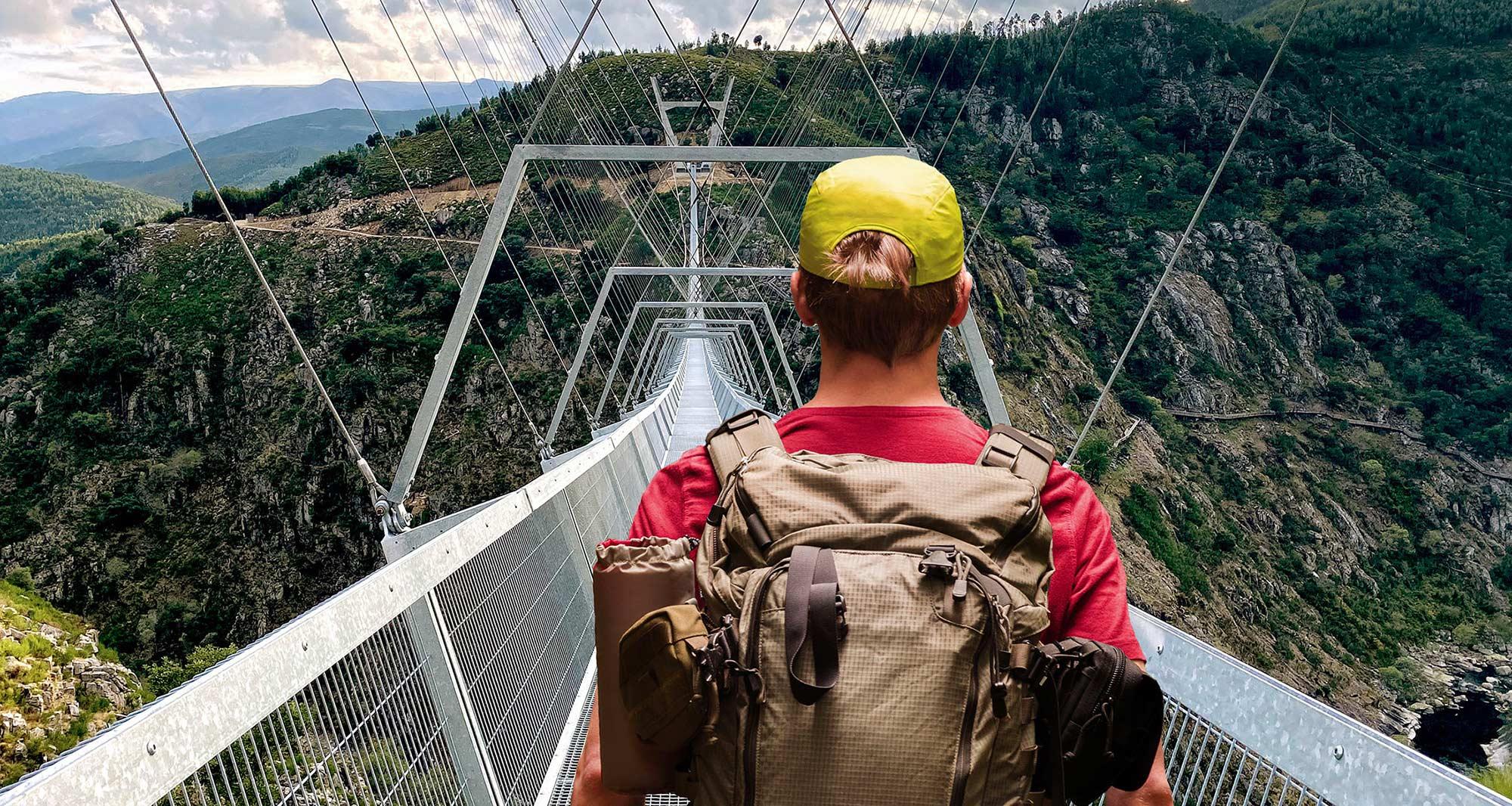 516 Arouca: the world's longest pedestrian suspension bridge