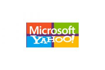 Microsoft and Yahoo! over MS's logo